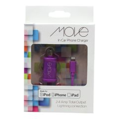 Move Iphone In Car Charger 2.4 AMP
