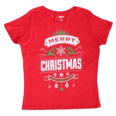 Holiday Time Short Sleeve Christmas T-Shirt