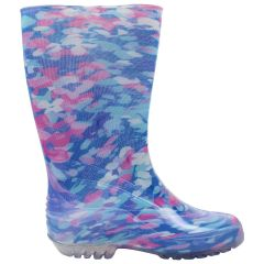Multicoloured Rubber Rain Boot