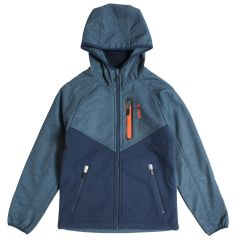 Boy's PSG Tech Series Soft Shell Jacket Navy 8-16