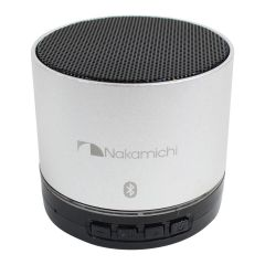 Nakamichi Round Wireless Speaker Silver