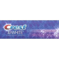 Crest 3D White Radiant Mint Whitening Toothpaste 75ml