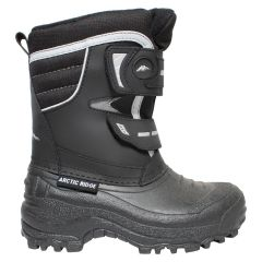 Youth Boys Arctic Ridge Velcro Winter Boot Black