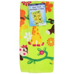 Just Kidding Jungle Hand Towel