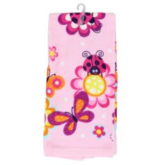 Just Kidding Hand Towel Ladybug