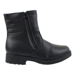 Men's Zip Boots With Clip Black