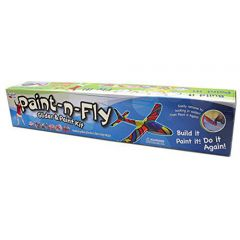 Paint n Fly Glider and Paint Kit 22 in Assorted