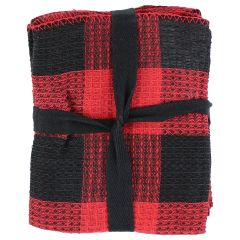 Colour Your Home Buffalo Plaid Dishcloths 8 Pack