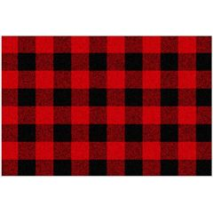 Place mat Buffalo Plaid Black & Red