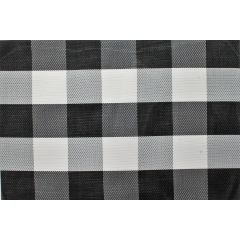 Buffalo Plaid Place Mat Black & White