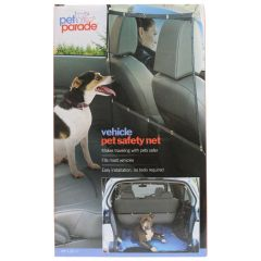 Pet Parade Car Safety Net Black