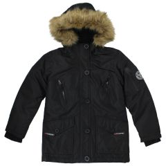 PSG Collection Girls Winter Parka Black