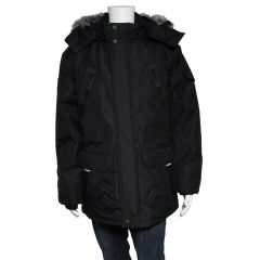 PSG Collection Hooded Winter Parka Black