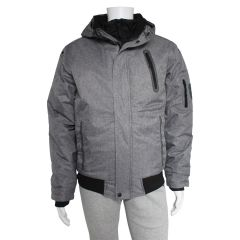 PSG Double Layer Bomber Jacket Grey
