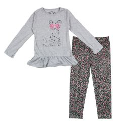 Mini Made Cool Kitty Legging and Long Sleeve T-Shirt Set