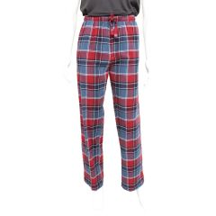 Memphis Blues Plaid Flannel Sleep Pants Red