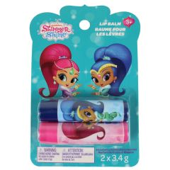 Nick Junior Shimmer And Shine Lip Balm 2 Pack