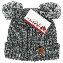 Great Northern Knitted Pom Pom Toque Size 2-3X