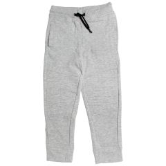 Billy Wear Boys Fleece Jogger With Knee Details Grey Size 4-6
