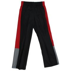 Starter Boy's Tricot Athletic Pants Black & Red Large