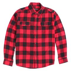 OPC 775 Men's Plaid Flannel Button Down Shirt