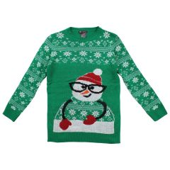 Margie Girls Christmas Sweater Size 7-14