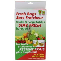 Fresh Green Bags 20 Pieces
