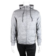 Rawlings Zip Up Hoodie Heather Grey