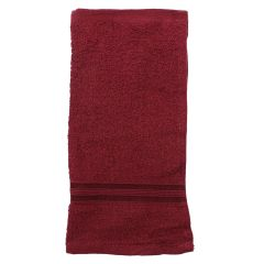Crystal Cotton Face Cloth 13 x 13cm Red