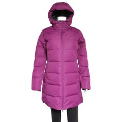 Quilted Down Parka Purple