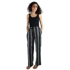 Guilty Knit Wide Leg Stripe Pants