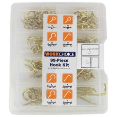 Work Choice Hook Assortment Kit 99Pc