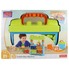 Fisher-Price Mega Bloks First Builders Lunch Box Market
