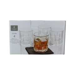Gibson Home Jewelite Glass Tumbler 11 oz 4 Set