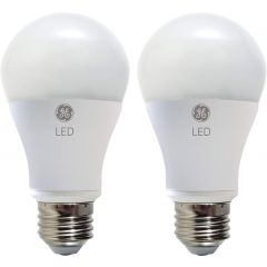 GE Lighting Soft White LED A19 9-Watt Light Bulbs 2Pk