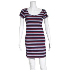 Guilty Women's Striped T-Shirt Dress