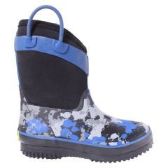 Western Chief Neoprene Rubber Rain Boot Blue
