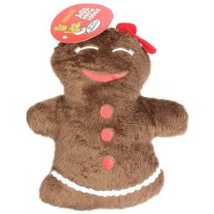 Dog Plush Toy Xmas Gingerbread Assorted