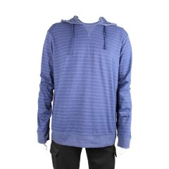 Knit Long Sleeved Hooded Shirt