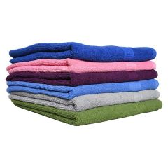 Solid Bath Towel Assorted 27 x 52in