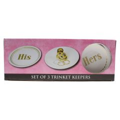 3 Piece Trinket Dish Set