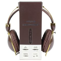 Nakamichi Studio Headphones Brown