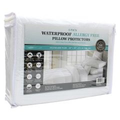 Pillow Protector Allergy Standard Pillow Protectors 4Pk