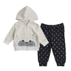 Funny Bunny Boy's Jacket & Joggers 2 Piece Set