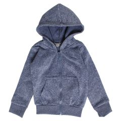 Boy's Fleece Lined Zip Up Hoodie