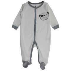 Snugabye 4 Piece Clothing Set Grey