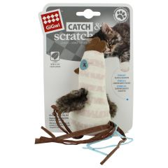Gigwi Catch & Scratch Chick Cat Toy