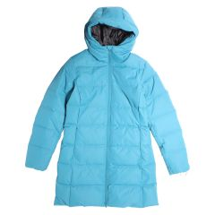 Quilted Down Parka Blue