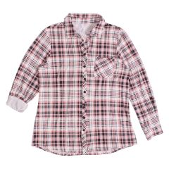 2 Dye 4 Plus Size Plaid Button Down Shirt