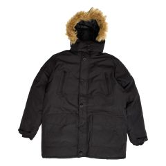 Motion Gear Men's Deluxe Fur Trim Hooded Parka